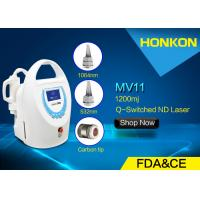 China Q Switched ND YAG Laser Tattoo Removal Device For Skin Rejuvenation AC 220V 50HZ on sale