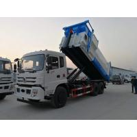 China 16 Ton Roll Off Waste Removal Trucks Collection Container Vehicle Dongfeng 12cbm for sale