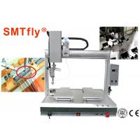 China 4 Axis PCB Robotic Soldering Machine Customized Thermode 1-99.9s Heating Time on sale
