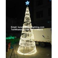 Wholesale led spiral christmas tree from china suppliers