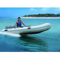 Wholesale Aluminum Floor Folding Sailing Dinghy , 250cm PVC Roll Up Inflatable Boat With Slat from china suppliers