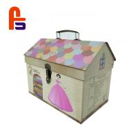 China Original Design Decorative Hot Stamping Surface Treatment  Cardboard Suitcase Box for sale