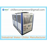 Wholesale 30HP Air Cooled Scroll Water Chiller for Beverage Bottling With Plate Heat Exchanger from china suppliers
