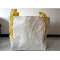 Wholesale Building Use 1 Tonne Bulk Bags , 100% Virgin PP White Large Bulk Bags from china suppliers
