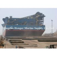 China Enhanced Marine Ship Launching Airbags Soft Rubber Material With Good Abrasion Resistance on sale