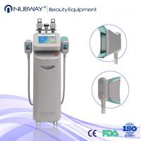 Buy cheap Reduce Cellulite Fat Freeze Cryolipolysis Slimming Machine With Touch Screen RF Cavitation from wholesalers