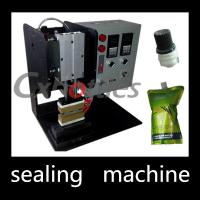 Wholesale Durable Stand Up Pouch Sealing Machine / Plastic Spout Sealing Machine 4.9*0.6mm Inner Size from china suppliers