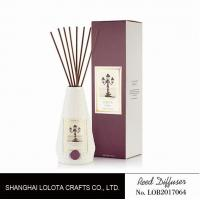 Wholesale Portable Home Ceramic Scent Diffuser , Long Lasting Ceramic Reed Diffuser from china suppliers