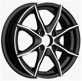 Wholesale Black  14 Inch Alloy Wheels Full painted 4 Hole 58.6-73.1 CB from china suppliers