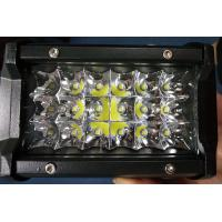 Wholesale 6 Inch 54W  Led Work Lights 12v Trip Row 6500k Multiple Colors from china suppliers