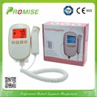 Quality PROMISE Manufacturer /Fetal doppler / color screen fetal doppler with large 2.4'' color OLED for sale