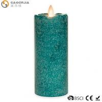 Quality 7-Inch Flickering Flame LED Pillar Candle for sale