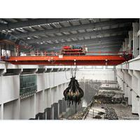 Buy cheap 20 ton 30 ton 50 ton double girder/beam mobile bridge/grab bucket overhead crane from wholesalers