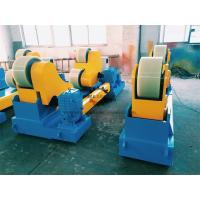 China 50 Ton Self Aligned Conventional Welding Rotator Wheels Rotation Synchronized on sale