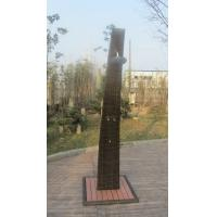 Wholesale Strong All Weather Brown Shower With PE Rattan , Steel frame from china suppliers