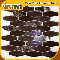 Buy cheap Building Glass And Stone Mosaic Tile , natural stone mosaic tile backsplash from wholesalers
