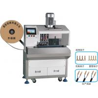 Wholesale SPT Wire Stripping Vase Terminal Crimping Machine , Fully Automatic Wire Crimping Machine from china suppliers
