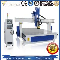 China Most popular high precision 4-axis CNC router machine TM1530-4axis.THREECNC on sale