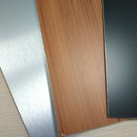 Wholesale Brushed Finish Stainless Steel Composite Panel Exterior Wall Cladding Designs from china suppliers
