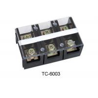 Wholesale 2p 3p 4p TC Electrical Plastic Terminal Block , Weidmuller Terminal Block 600V  60~600A from china suppliers
