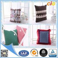 Buy cheap Polyester Embroidery Decorative Pillow , Sofa Car Christmas Cushion Throw Pillow Case from wholesalers