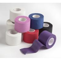 Wholesale Coloured cotton sports coach tape trainer tape from china suppliers