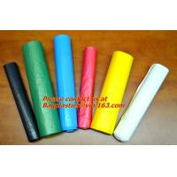 Wholesale Biodegradable, colorful Trash Bag, Refuse Sack On Roll, Disposable, Plastic Garbage Bags from china suppliers