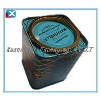 Wholesale Sqare Metal Tea Tin/XL-50528 from china suppliers