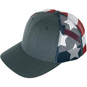 Wholesale 56cm Flat Brim Snapback Hats Plain Blank Black Trucker Cap from china suppliers