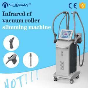 Buy cheap Multifunction far infrared cavitation rf BIO vacuum roller beauty salon slimming machine from wholesalers
