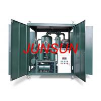 Buy cheap Two-Stage-Vacuum High Reliability Transformer Oil Treatment Equipment (Oil Purifier) from wholesalers