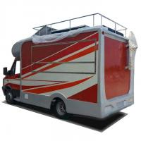 China High Strength IVECO Mobile Snack Truck , Food Catering Truck Equipped With Generator for sale