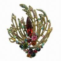 Wholesale Brooch with Shining Stones from china suppliers