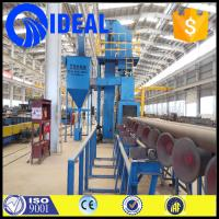 Quality International and outer pipe cleaning shot blasting machine with ISO9001,CE for sale