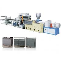 Wholesale Decorative Single Screw Plastic Extrusion Machine For PVC Faux Marble Board from china suppliers