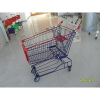 Buy cheap Supermarket 150L Wire Shopping Cart 1010 x 580 x 1016mm With 4 Flat Casters from wholesalers