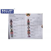 Quality SE - SCC002 Green Voting Paper , Disposable Printed Ballot Paper For Election for sale
