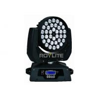Wholesale RGBW Wash moving head LED disco lights With 36pcs 10w LEDs / 1.8deg rotation from china suppliers