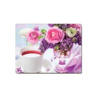 Wholesale Decorative Flower PET Printing 3D Lenticular Plastic Table Mats Offset Printing from china suppliers
