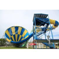 Wholesale Thrilling Commercial Fiberglass Water Slides Maximum Speed Of 12m / S from china suppliers