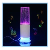 China Touch Sensor LED Water Dancing Speaker Rechargeable Speaker Water Show Fountain Speaker on sale