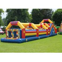 Wholesale Waterproof PVC Backyard Adult Inflatable Obstacle Course With EN14960 from china suppliers