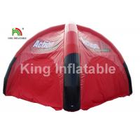 Wholesale Airtight Black And Red Inflatable Event Tent For Advertising / Exhibition / Tourist from china suppliers