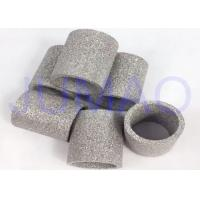 Wholesale Custom Sintered Powder Metal Filter Tube , Porous Metal Filters ISO Approved from china suppliers