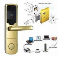 Wholesale High Security Software Management System RF Hotel Door Lock Electronic Door Latches from china suppliers