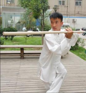 Buy cheap Wushu Waxwood Staff Wushu Sticks Bai la Gun Qi Mei Gun Bo Staff Shaolin Sticks Taolu Gun from wholesalers