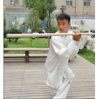 Wholesale Wushu Waxwood Staff Wushu Sticks Bai la Gun Qi Mei Gun Bo Staff Shaolin Sticks Taolu Gun from china suppliers