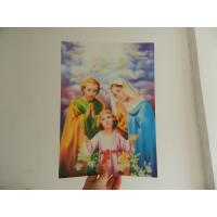 Wholesale PET 0.45MM 75lpi  3D animal Lenticular Printing photo with strong 3d  depth effect printed by UV offset printer from china suppliers
