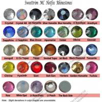 China Factory Wholesales Crystal AB M/C Hot Fix Rhinestones Multi Colors Garment Clothes Trim Shimmer Gifts Women Fashion Trim on sale