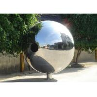 Wholesale Polished Outdoor Metal Sculpture Stainless Steel Decorative Balls For Yard Decoration from china suppliers